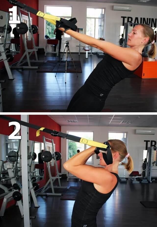Упражнения с TRX-петлями: тренировка для всех групп мышц