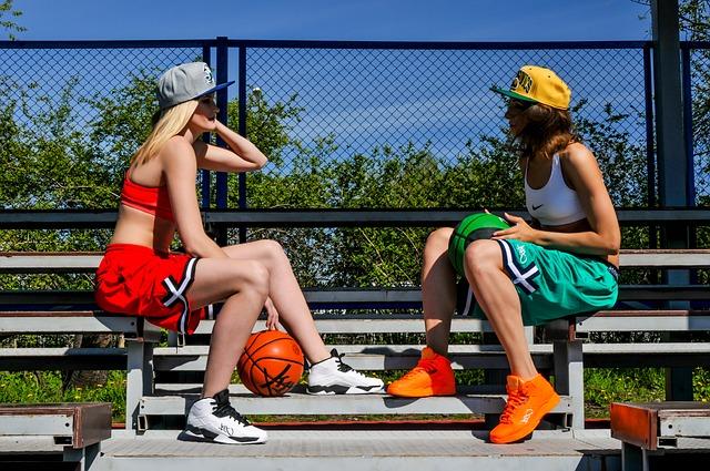 Девушки-атлеты