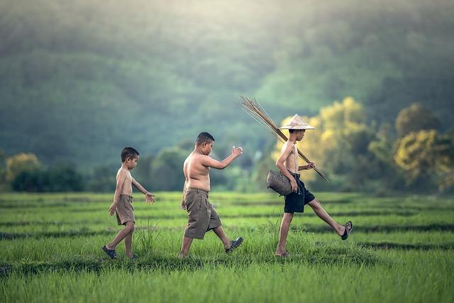 Дети разной подготовки