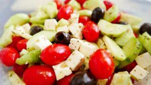 Средиземноморская диета помогает избежать переедания
