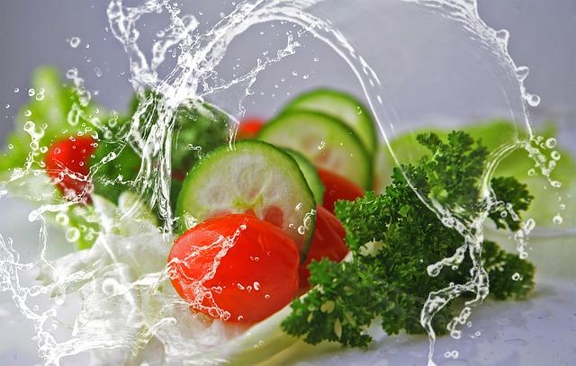 Овощи, салат