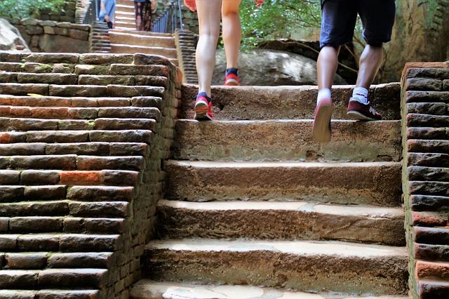 Спорт на лестнице