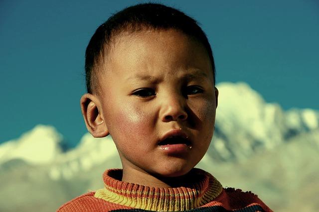 Тибетский мальчик