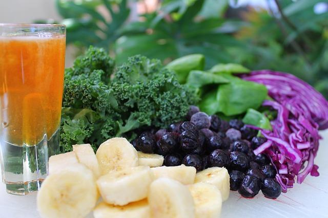 Овощи и фрукты для детокса