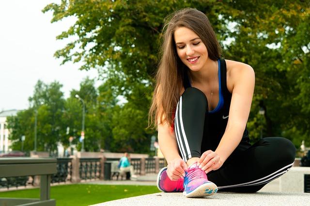 Спорт на улице для девушек