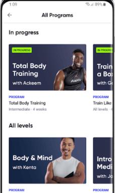 Aaptiv #1 Audio Fitness App - приложение для бега
