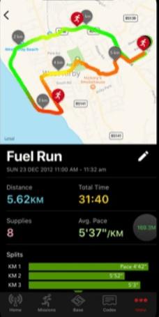 Zombies, Run! приложение для бега